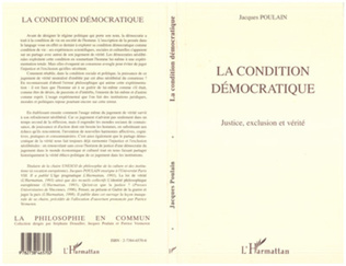 Couverture La Condition Démocratique
