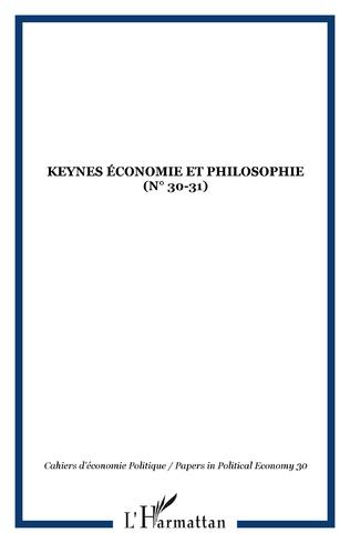Couverture Keynes économie et philosophie (n° 30-31)