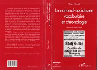 Couverture Le National-Socialisme : Vocabulaire et Chronologie