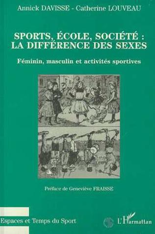 Couverture Sports, école, société : la différence des sexes