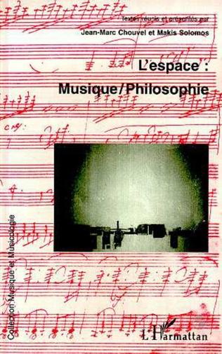 Couverture L'espace : musique /philosophie