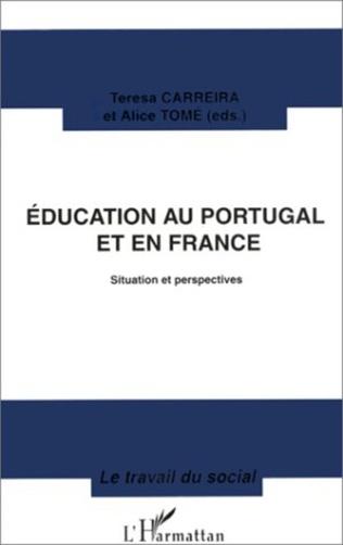 Couverture Éducation au Portugal et en France