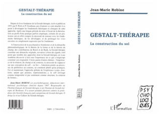 Couverture Gestalt-Therapie