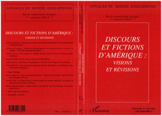 Couverture Discours et fictions d'Amérique : visions et revisions