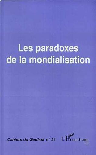 Couverture Les paradoxes de la mondialisation