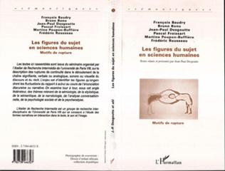 Couverture Les Figures du Sujet en Sciences Humaines