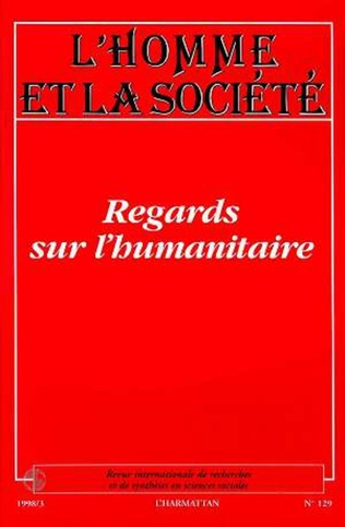 Couverture Regards sur l'humanitaire