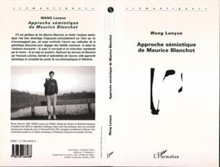 Couverture Approche Sémiotique de Maurice Blanchot