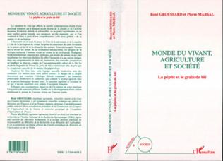 Couverture Monde du Vivant, Agriculture et Société