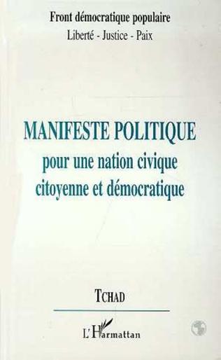Couverture Manifeste Politique pour une Action Civique Citoyenne et Démocratique -Tchad