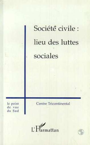 Couverture Société civile : lieu des luttes sociales