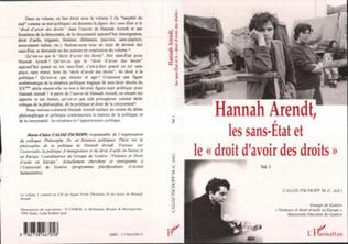 Couverture Hannah Arendt, les Sans-Etat et le