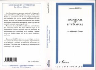Couverture Sociologie et Littérature
