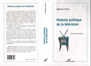 Couverture Histoire Politique de la Télévision