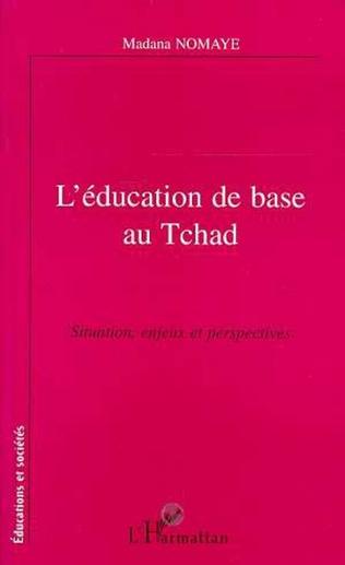 Couverture L'éducation de base au Tchad