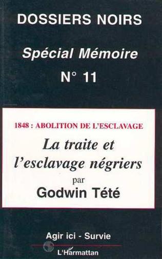 Couverture 1848 : Abolition de l'esclavage