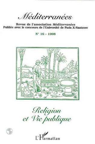 Couverture RELIGION ET VIE PUBLIQUE