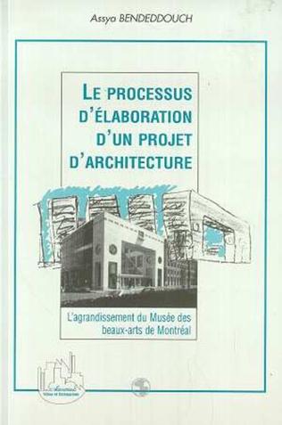 Couverture Le Processus d'élaboration d'un Projet d'architecture