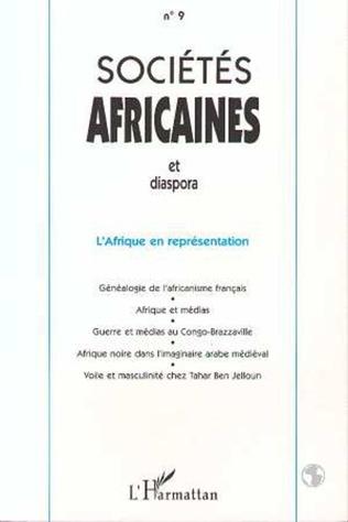 Couverture L 'Afrique en représentation