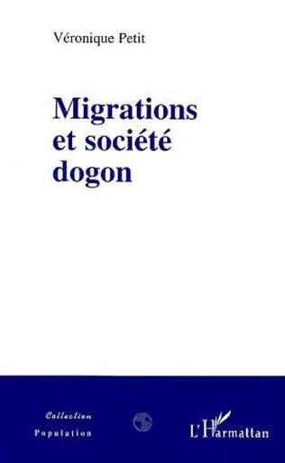 Couverture Migrations et Société Dogon