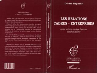 Couverture Les Relations Cadres-Entreprises