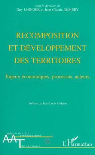 Couverture Recomposition et développement des territoires