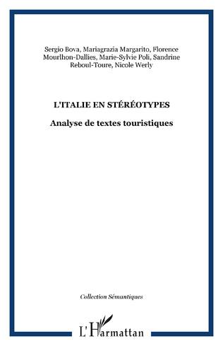 Couverture L'ITALIE EN STÉRÉOTYPES
