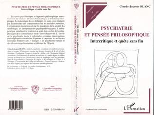 Couverture Psychiatrie et Pensée Philosophique