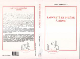 Couverture Pauvreté et Misère à Rome