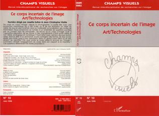 Couverture CE CORPS INCERTAIN DE L'IMAGE