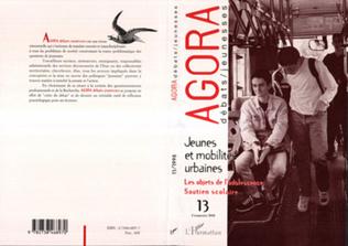 Couverture Jeunes et mobilité urbaines