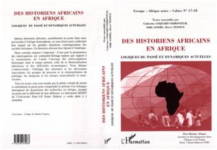 Couverture Des Historiens Africains en Afrique