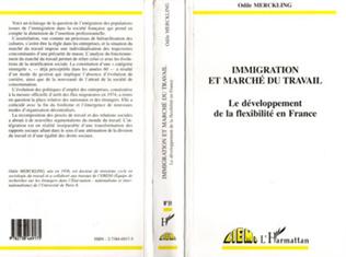 Couverture L'immigration et Marché du Travail