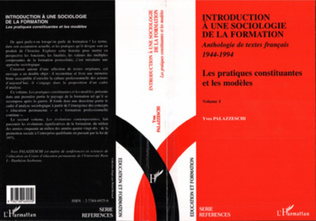 Couverture Introduction à une Sociologie de la Formation
