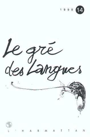 Couverture Le gré des langues n°14