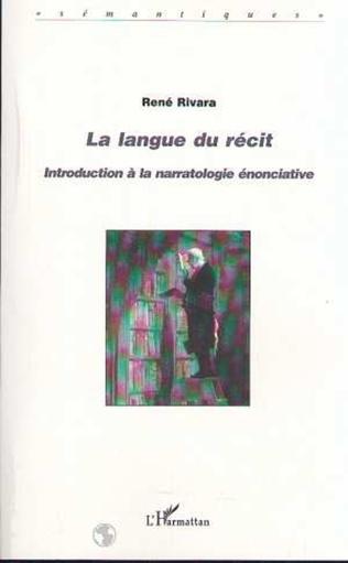 Couverture LA LANGUE DU RÉCIT