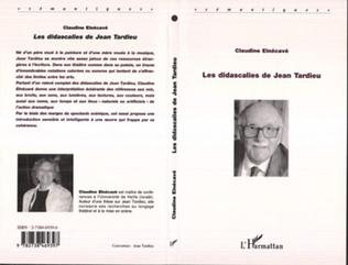 Couverture LES DIDASCALIES DE JEAN TARDIEU