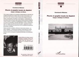 Couverture Phonie et Graphie Tonale Dagaare