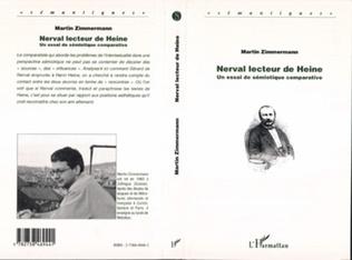 Couverture NERVAL LECTEUR DE HEINE