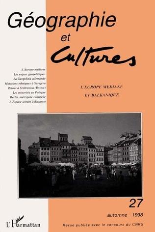 Couverture L'Europe médiane et balkanique