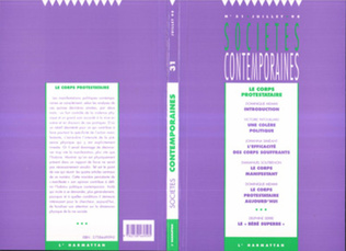 Couverture Le corps protestataire