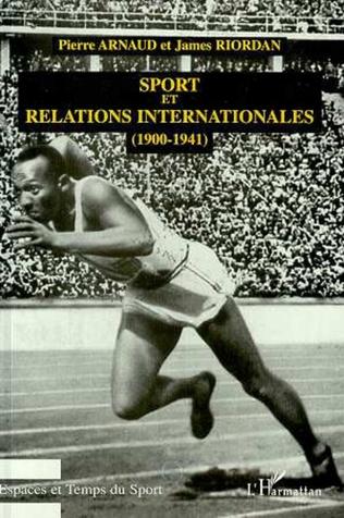 Couverture Sport et Relations Internationales (1900-1941)