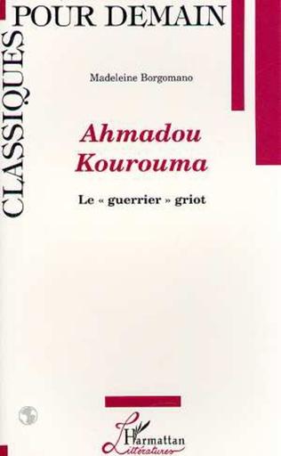 Couverture Ahmadou Kourouma