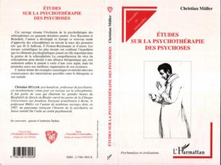 Couverture Etudes sur la psychothérapie de psychoses