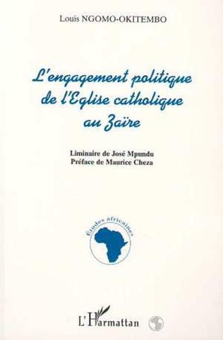 Couverture L'engagement politique de l'église catholique au Zaire