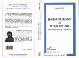 Couverture PROCESSUS DE CREATION ET MUSIQUE POPULAIRE