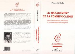 Couverture Le Management de la Communication