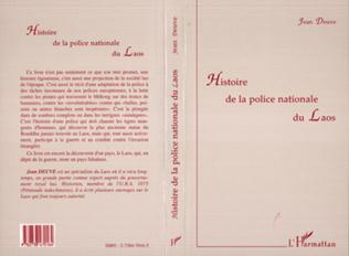 Couverture Histoire de la Police Nationale du Laos