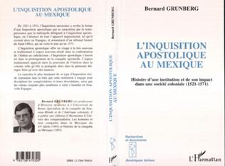 Couverture L'inquisition Apostolique au Mexique