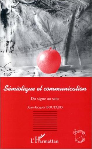 Couverture Sémiotique et Communication